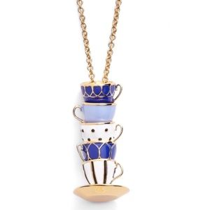 Kate Spade • Tea Time Long Necklace